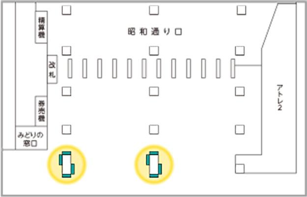 PrintJR東日本 JAD 秋葉原駅昭和通り口