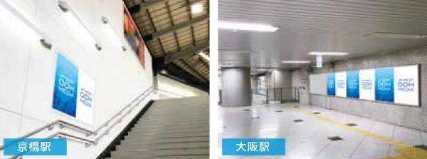 JR西日本 駅ポスター キャンパスセット