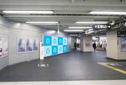 JR西日本 駅ポスター 天王寺駅ジャンボ